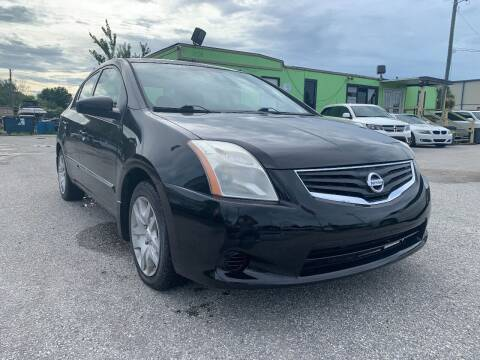 2012 Nissan Sentra for sale at Marvin Motors in Kissimmee FL