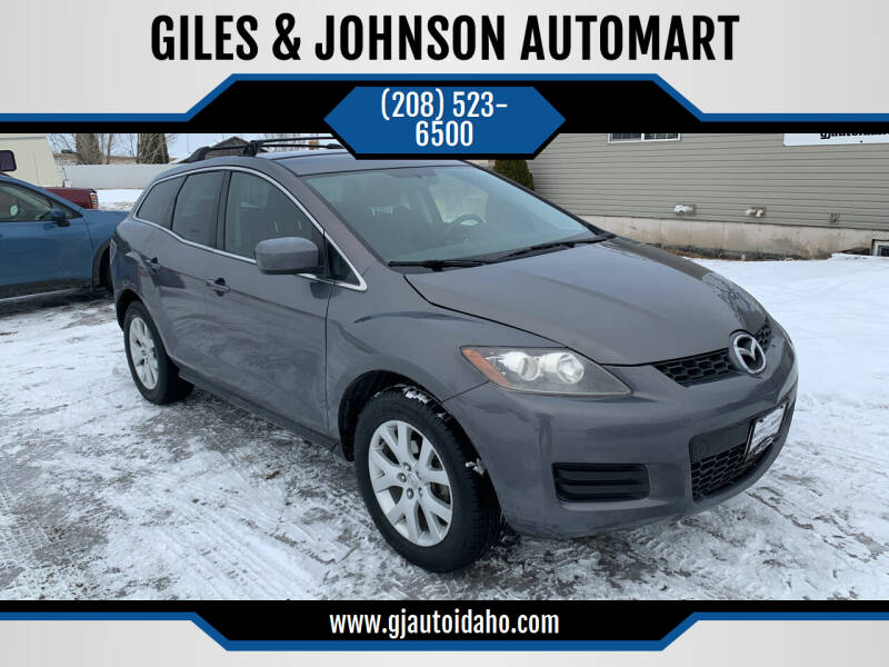 2008 Mazda CX-7 for sale at GILES & JOHNSON AUTOMART in Idaho Falls ID