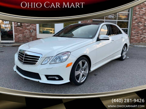 2010 Mercedes-Benz E-Class for sale at Ohio Car Mart in Elyria OH