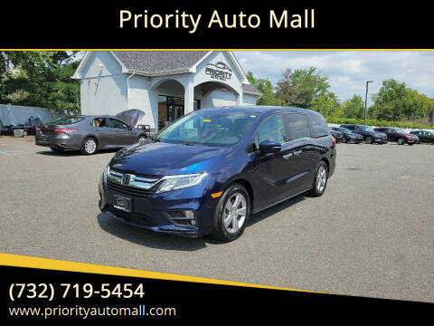 2018 Honda Odyssey for sale at Mr. Minivans Auto Sales - Priority Auto Mall in Lakewood NJ