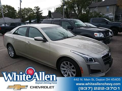 2014 Cadillac CTS for sale at WHITE-ALLEN CHEVROLET in Dayton OH