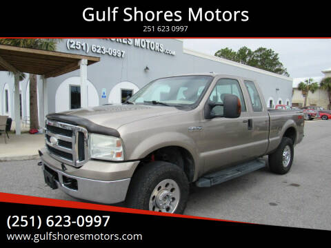 2006 Ford F-250 Super Duty for sale at Gulf Shores Motors in Gulf Shores AL