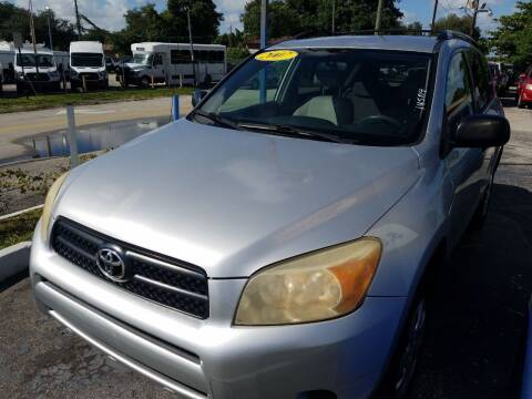 2007 Toyota RAV4 for sale at P S AUTO ENTERPRISES INC in Miramar FL