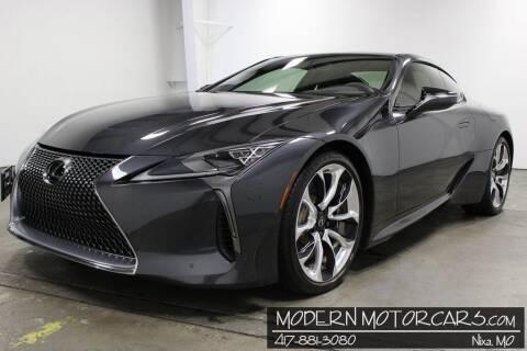 2018 Lexus LC 500 for sale at Modern Motorcars in Nixa MO