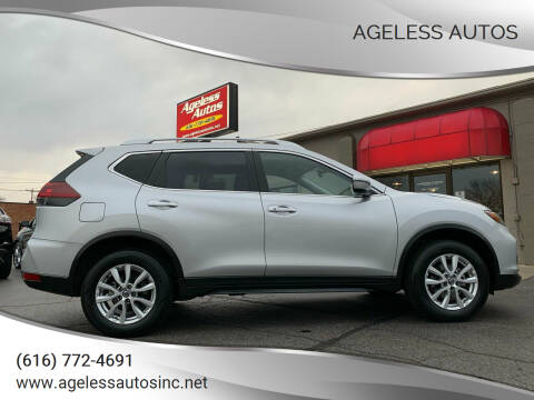 2020 Nissan Rogue for sale at Ageless Autos in Zeeland MI