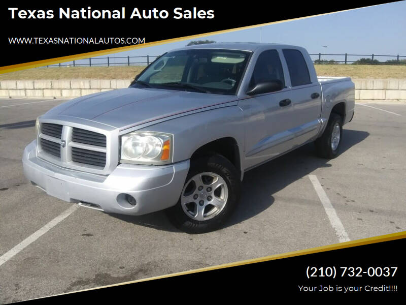 2006 Dodge Dakota for sale at Texas National Auto Sales in San Antonio TX