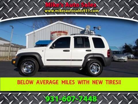 2007 Jeep Liberty for sale at Mike's Auto Sales in Shelbyville TN