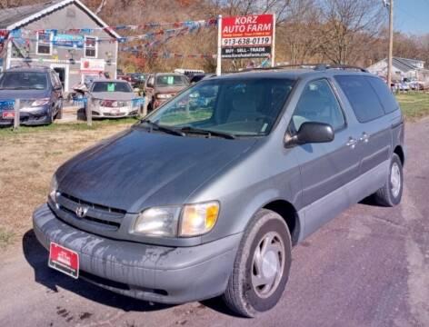 2000 Toyota Sienna for sale at Korz Auto Farm in Kansas City KS