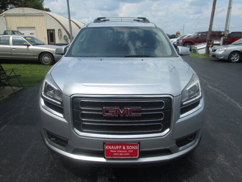 2013 GMC Acadia for sale at Knauff & Sons Motor Sales in New Vienna OH