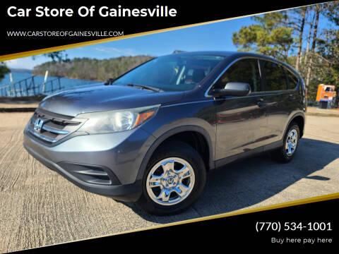 2013 Honda CR-V for sale at Car Store Of Gainesville in Oakwood GA
