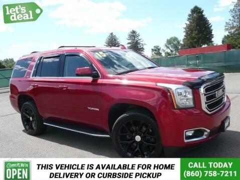 2015 GMC Yukon for sale at Shamrock Motors in East Windsor CT