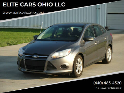 2013 Ford Focus for sale at ELITE CARS OHIO LLC in Solon OH