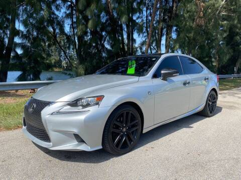 2014 Lexus IS 250 for sale at Import Haven in Davie FL