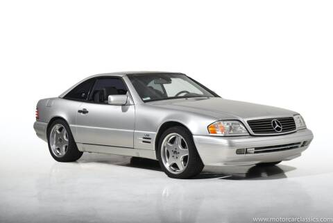 1997 Mercedes-Benz SL-Class for sale at Motorcar Classics in Farmingdale NY