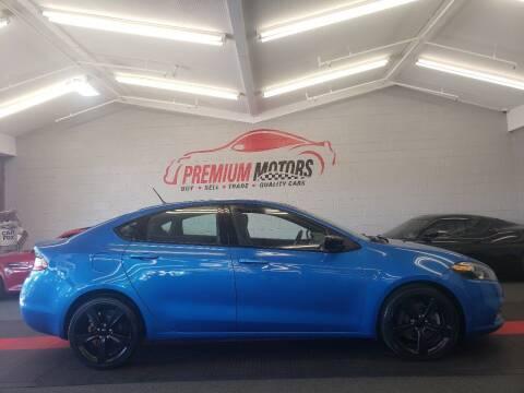 2015 Dodge Dart for sale at Premium Motors in Villa Park IL