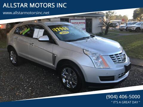 2015 Cadillac SRX for sale at ALLSTAR MOTORS INC in Middleburg FL