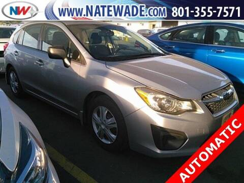 2014 Subaru Impreza for sale at NATE WADE SUBARU in Salt Lake City UT