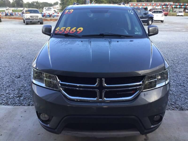 2013 Dodge Journey for sale at K & E Auto Sales in Ardmore AL