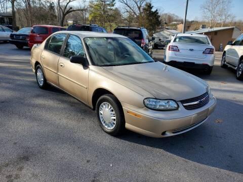 2001 Chevrolet Malibu for sale at DISCOUNT AUTO SALES in Johnson City TN