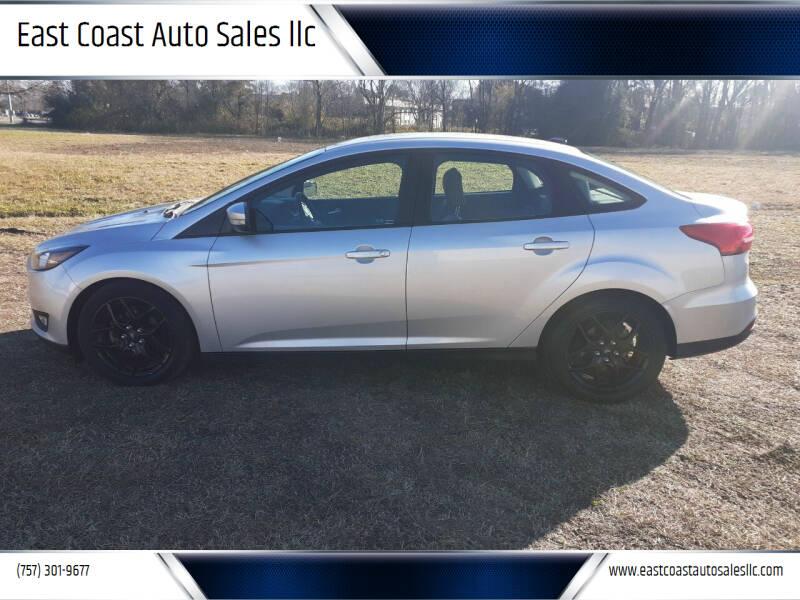 2016 Ford Focus for sale at East Coast Auto Sales llc in Virginia Beach VA