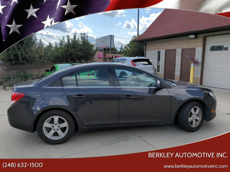 2014 Chevrolet Cruze for sale at Berkley Automotive Inc. in Berkley MI