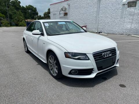 2012 Audi A4 for sale at Consumer Auto Credit in Tampa FL