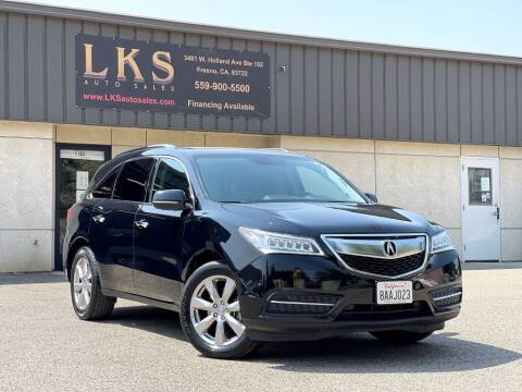 2015 Acura MDX for sale at LKS Auto Sales in Fresno CA