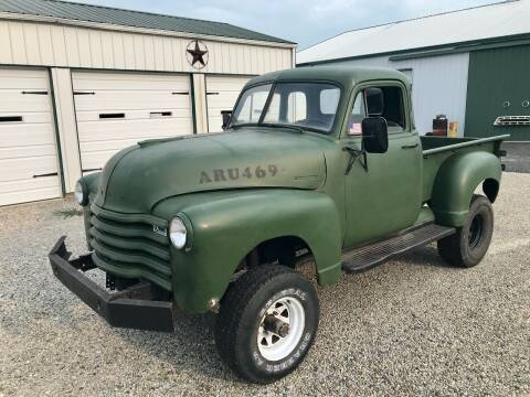 1950 Chevrolet 3100 for sale at 500 CLASSIC AUTO SALES in Knightstown IN