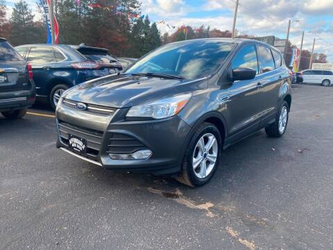 2016 Ford Escape for sale at Affordable Auto Sales in Webster WI