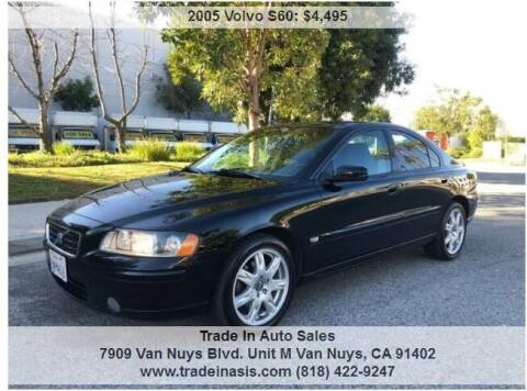 2005 Volvo S60 for sale at Trade In Auto Sales in Van Nuys CA