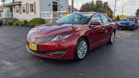 2013 Lincoln MKZ for sale at RBT Automotive LLC in Perry OH