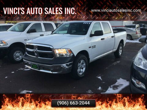 2014 RAM Ram Pickup 1500 for sale at Vinci's Auto Sales Inc. in Bessemer MI