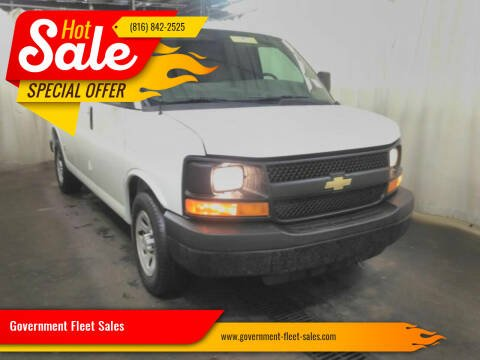 2013 Chevrolet Express Cargo for sale at Government Fleet Sales in Kansas City MO