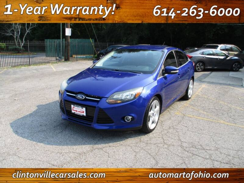 2013 Ford Focus for sale at Clintonville Car Sales - AutoMart of Ohio in Columbus OH