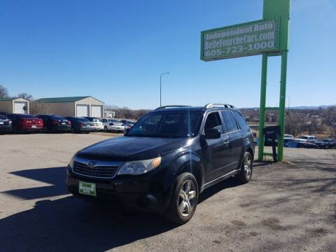 2009 Subaru Forester for sale at Independent Auto in Belle Fourche SD