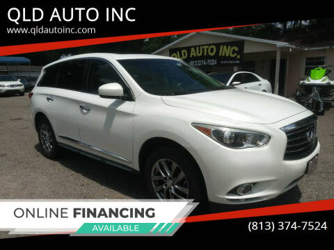 2013 Infiniti JX35 for sale at QLD AUTO INC in Tampa FL