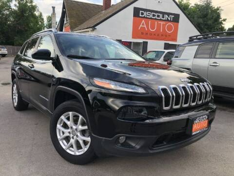 2018 Jeep Cherokee for sale at Discount Auto Brokers Inc. in Lehi UT
