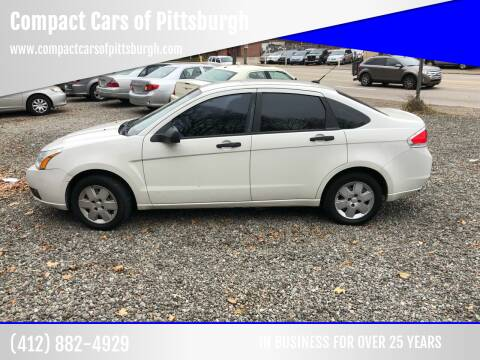 2010 Ford Focus for sale at Compact Cars of Pittsburgh in Pittsburgh PA