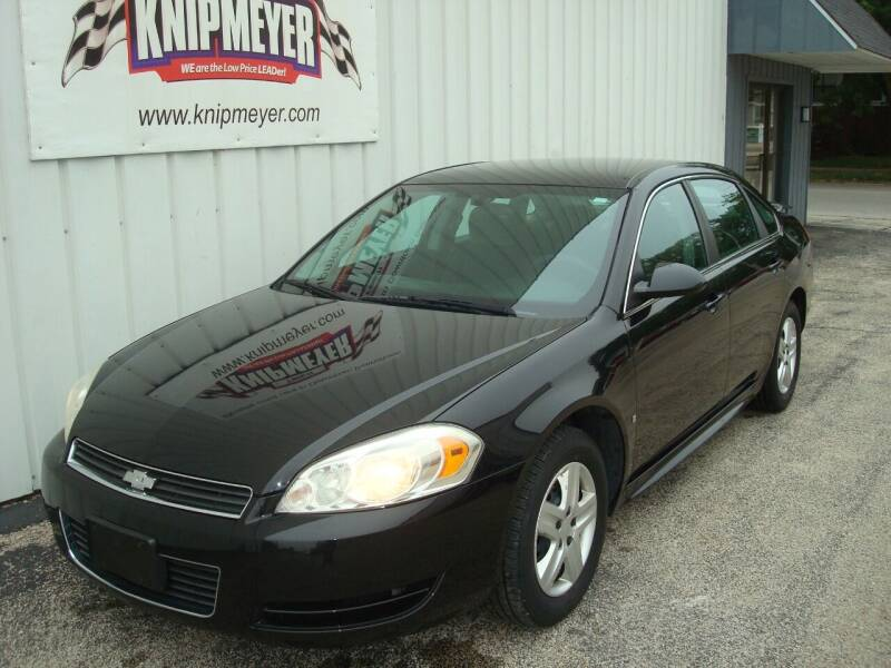 2010 Chevrolet Impala for sale at Team Knipmeyer in Beardstown IL