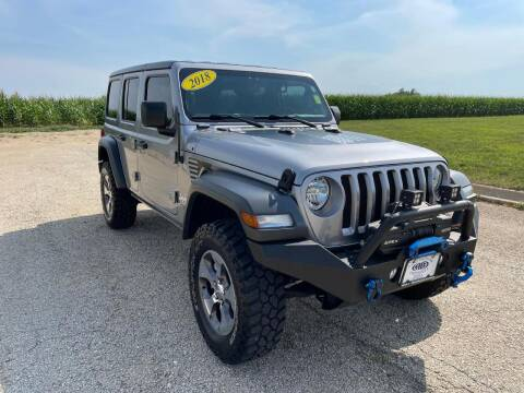 2018 Jeep Wrangler Unlimited for sale at Alan Browne Chevy in Genoa IL