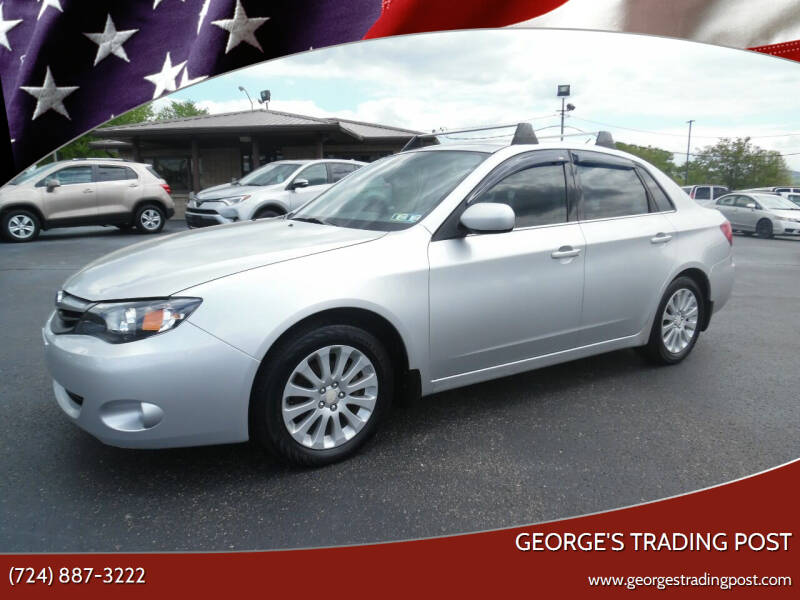 2011 Subaru Impreza for sale at GEORGE'S TRADING POST in Scottdale PA