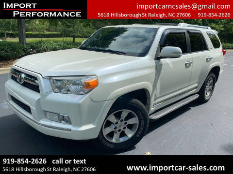 2011 Toyota 4Runner for sale at Import Performance Sales in Raleigh NC