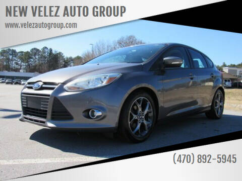 2013 Ford Focus for sale at NEW VELEZ AUTO GROUP in Gainesville GA