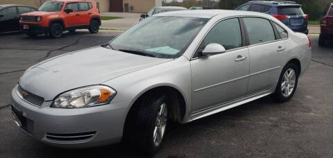 2012 Chevrolet Impala for sale at PEKARSKE AUTOMOTIVE INC in Two Rivers WI