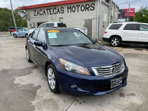 2008 Honda Accord for sale at Zacatecas Motors Corp in Des Moines IA
