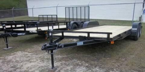 2021 Max Built 7 x 18 Car Hauler for sale at Sanders Motor Company in Goldsboro NC