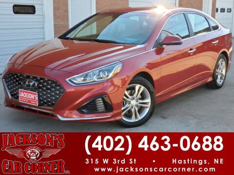 2019 Hyundai Sonata for sale at Jacksons Car Corner Inc in Hastings NE