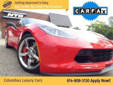 2015 Chevrolet Corvette for sale at Columbus Luxury Cars in Columbus OH
