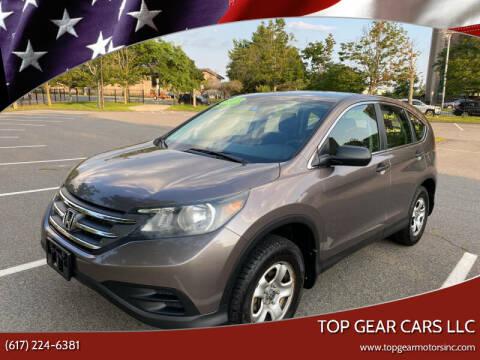 2013 Honda CR-V for sale at Top Gear Cars LLC in Lynn MA