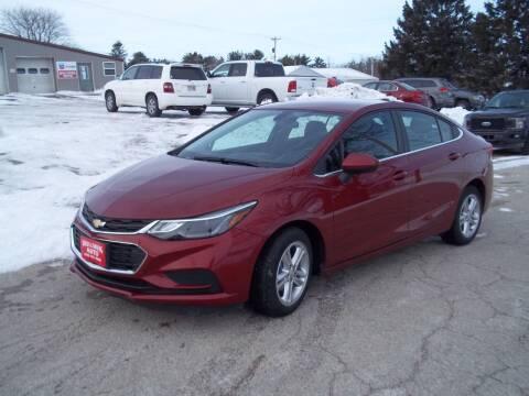 2017 Chevrolet Cruze for sale at SHULLSBURG AUTO in Shullsburg WI